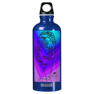 Blue/Purple Lilly Water Bottle