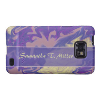 blue purple marble texture galaxy s2 case