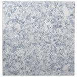 blue purple mottled background printed napkins