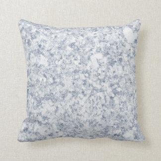 blue purple mottled background throw pillow