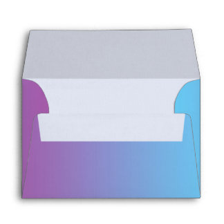 Blue & Purple Ombre Envelope
