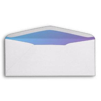 Blue & Purple Ombre Envelope