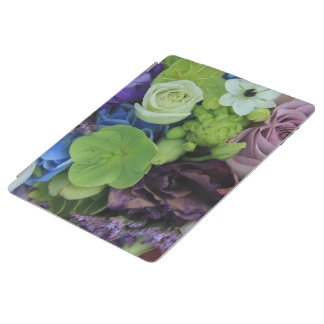 Blue Purple roses by Therosegarden iPad Cover