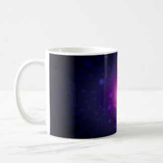 Blue Purple Space Galaxy Stars Abstract Coffee Mug