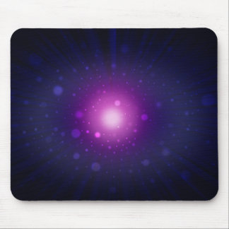 Blue Purple Space Galaxy Stars Abstract Mouse Pad