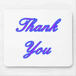 Blue Purple Thank You Design The MUSEUM Zazzle Gif Mouse Pad