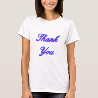 Blue Purple Thank You Design The MUSEUM Zazzle Gif T-Shirt