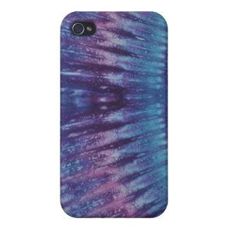 Blue & Purple Tie Dye iPhone 4 Case