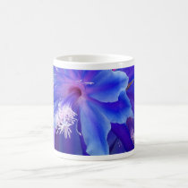 Blue Purple Tropical Flower Gifts by Sharles Coffee Mug