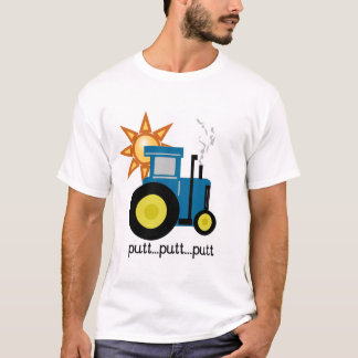 Blue Putt Putt Tractor Tshirts and Gifts