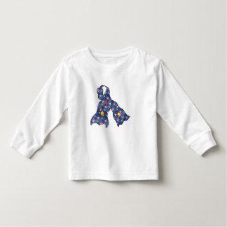 Blue Puzzle Autism Awareness Ribbon Toddler Toddler T-shirt