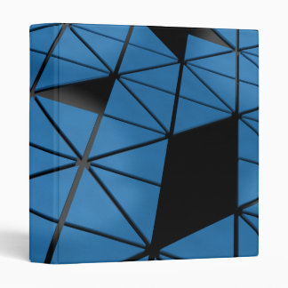 Blue Puzzle Avery Binder