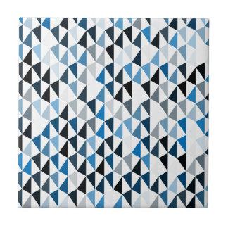 blue pyramid pattern 03 ceramic tile