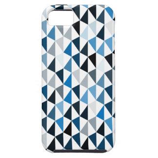 blue pyramid pattern 03 iPhone SE/5/5s case