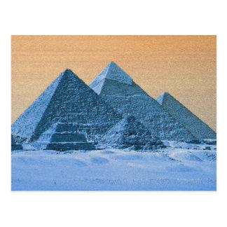 Blue Pyramids Postcard