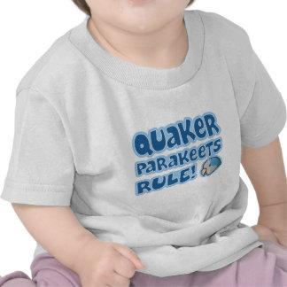 Blue Quaker Parakeets Rule Baby's Tshirts