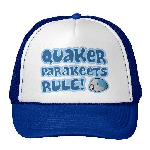 Blue Quaker Parakeets Rule Trucker Hat