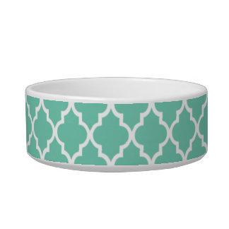 Blue Quatrefoil Bowl