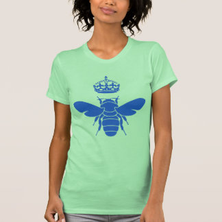 Blue Queen Bee Logo...Are You A Queen Bee? T Shirt