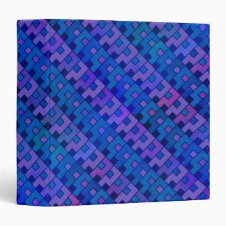 Blue Question Pattern 3 Ring Binder