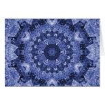 blue quilt card