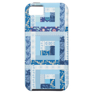 Blue Quilt iPhone SE/5/5s Case