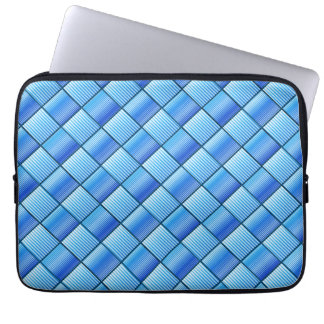 Blue Quilt Laptop Sleeve