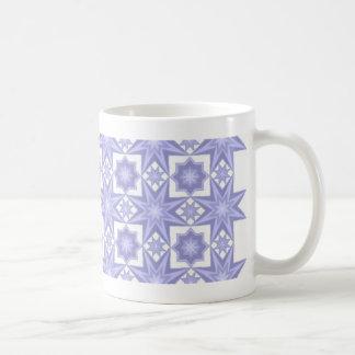 Blue Quilt Pattern Mug
