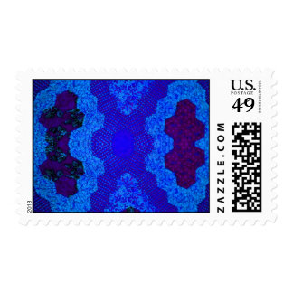 Blue Quilt Postage