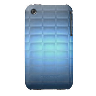 Blue Quilted iPhone 3 Case-Mate Cases