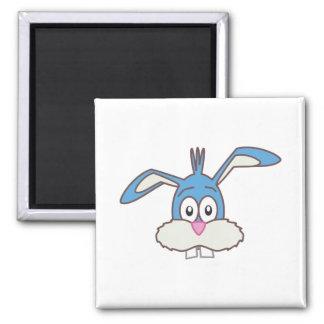 Blue Rabbit head Magnet