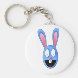 Blue Rabbit Mowa Key Chain