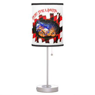 Blue Racer Push The Limits Table Lamp