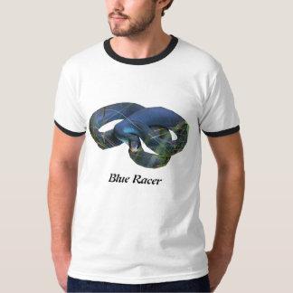 Blue Racer Ringer T-Shirt