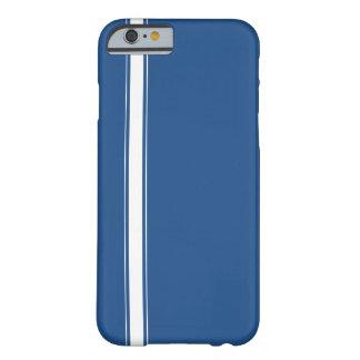 Blue Racing Stripe iPhone 6 case