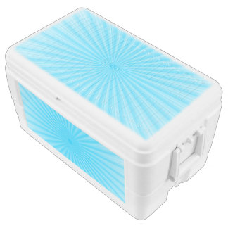 Blue Radial Base Add your own Elements Chest Cooler