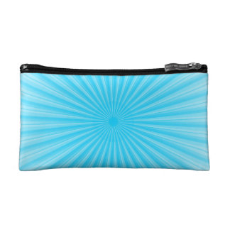 Blue Radial Base Add your own Elements Cosmetic Bag