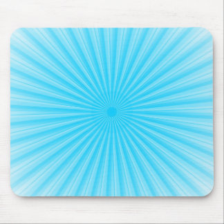 Blue Radial Base Add your own Elements Mouse Pad
