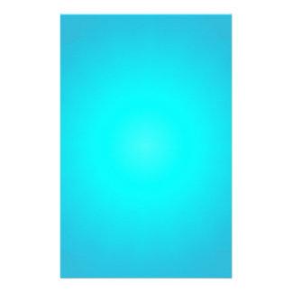 blue radiance custom stationery