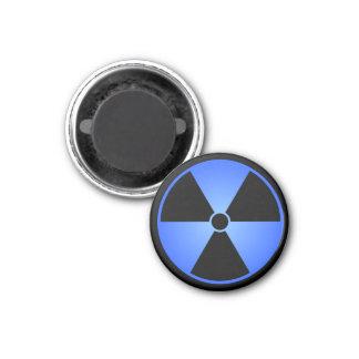 Blue Radiation Symbol Magnet