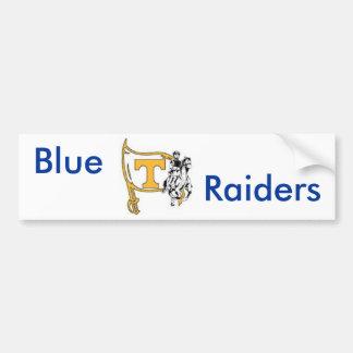 blue raiders bumper sticker