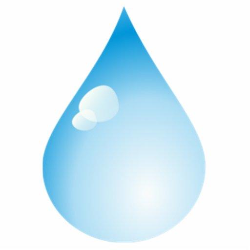 Blue Rain Drop Cut Outs Zazzle