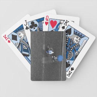 Blue Rain Playing Cards