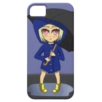 Blue Rainbow Kid Phone iPhone SE/5/5s Case