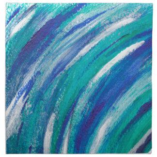 blue Rainbow Napkin