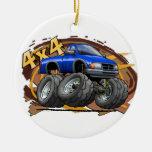 Blue Ranger Ornaments