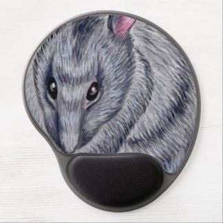 blue rat gel mousepad