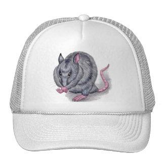 blue rat hat