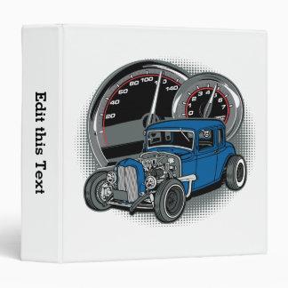 Blue Rat Rod Street Car Binder