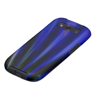Blue Ray Art Samsung Galaxy S2 Barely There Case Samsung Galaxy S3 Case